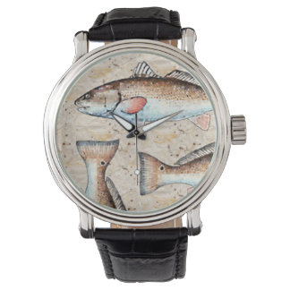Redfish and tails watch