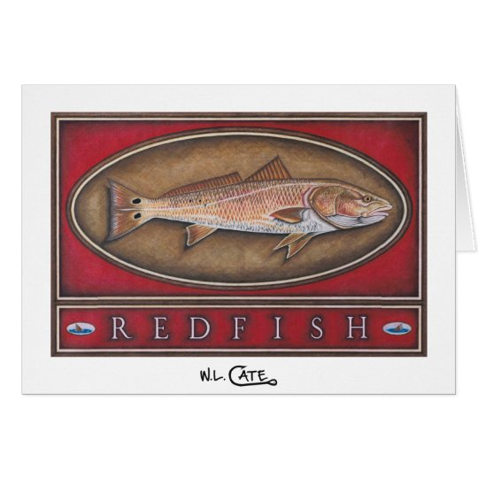 Redfish Greeting & Note Cards
