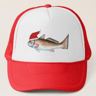 Redfish Santa Hat Christmas