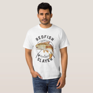 Redfish Slayer - Redfish Fishing Shirt