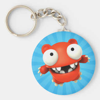 Redford' Ride Basic Round Button Key Ring