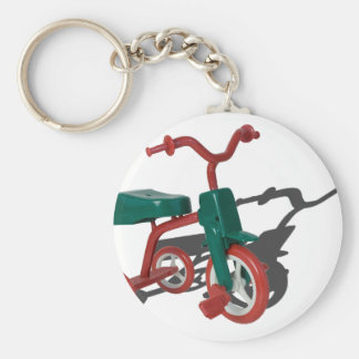 RedGreenTricycle012915.png Key Ring