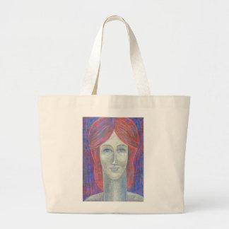 Redhead 2012 large tote bag