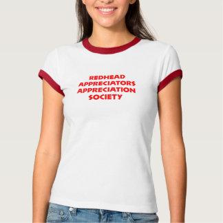 Redhead Appreciators T-Shirt