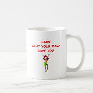 redhead basic white mug
