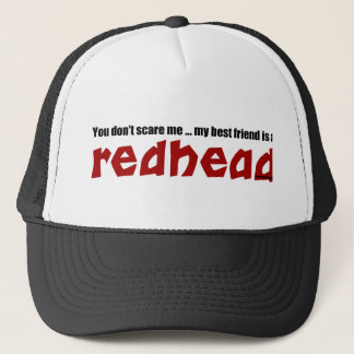 Redhead Best Friend Trucker Hat