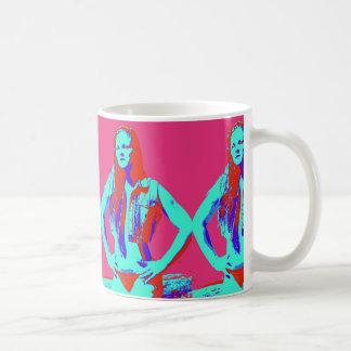 redhead bikini girl coffee mug