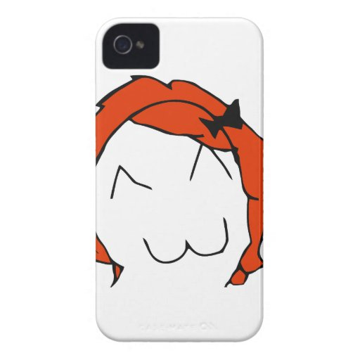 Redhead Derpina iPhone 4 Case-Mate Case