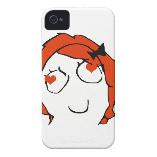 Redhead Derpina Valentine - In Love iPhone 4 Covers