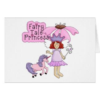 Redhead Fairy Tale Princess Card