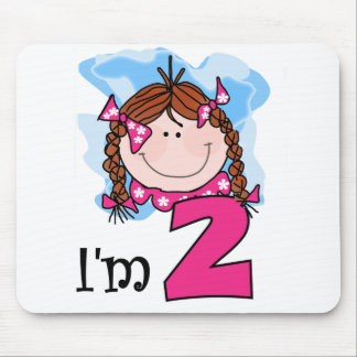 Redhead Girl I m Two Mouse Mat