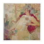 Redhead Goddess Ceramic Tiles