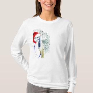 Redhead illustration shirt