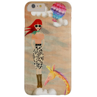 Redhead in the clouds barely there iPhone 6 plus case