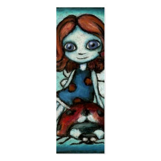 Redhead Lucy bookmark pack of 20 Business Cards