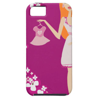 redhead pregnant woman iPhone 5 cases