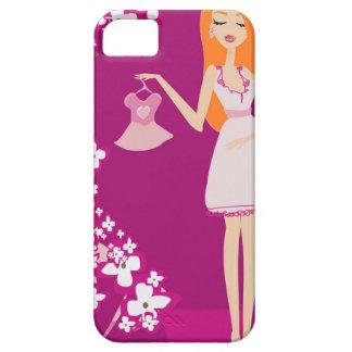 redhead pregnant woman iPhone 5 case