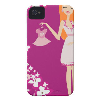 redhead pregnant woman iPhone 4 cover