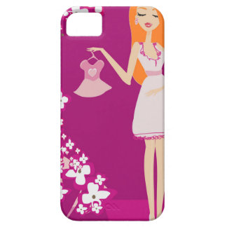 redhead pregnant woman iPhone 5 case