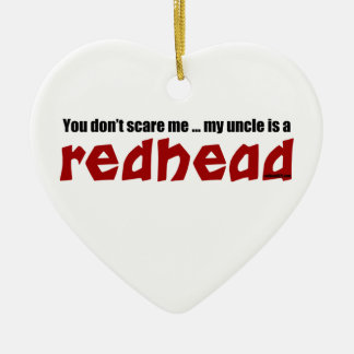 Redhead Uncle Christmas Ornament