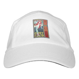 redheaded coney island mermaid hat
