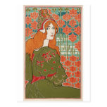 Redheaded Maiden Postcard