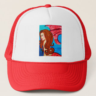 redheaded mermaid hat