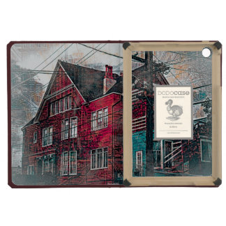 RedHeaded Victorians Corner Mission District sfc iPad Mini Covers