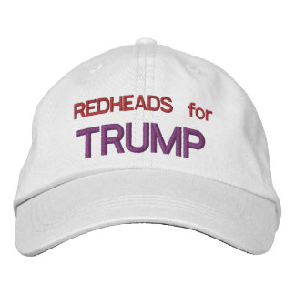 REDHEADS for TRUMP Embroidered Hat