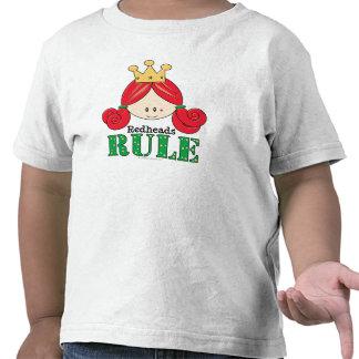 Redheads Rule Redhead Toddler Kid Tee