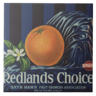 Redlands Choice Orange Crate Label Tiles