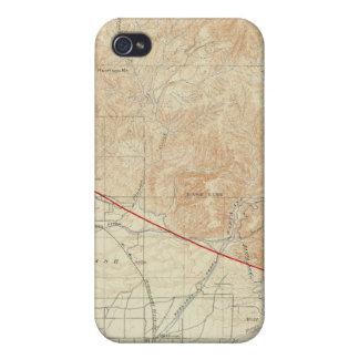 Redlands quadrangle showing San Andreas Rift iPhone 4/4S Cover