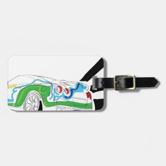Redlights Luggage Tag