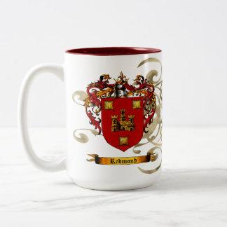 Redmond Coat of Arms Coffee Mug