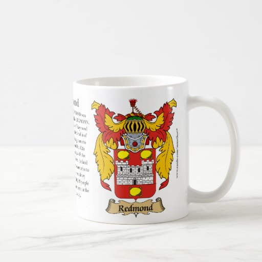 Redmond, the Origin, the Meaning and the Crest Mug
