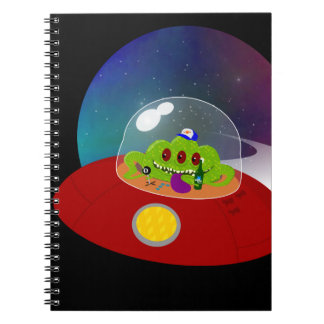 Redneck Alien from Outer Space Spiral Notebook