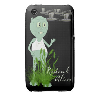 Redneck Aliens iPhone 3 Barely There Case