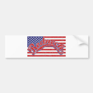 Redneck and Flag Bumper Stickers