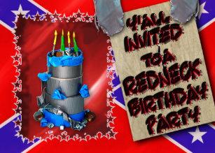 Phenomenal Redneck Birthday Gifts Gift Ideas Zazzle Uk Funny Birthday Cards Online Alyptdamsfinfo