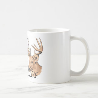 redneck buck lure basic white mug