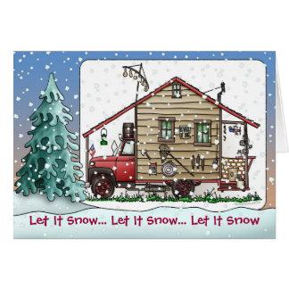 Redneck Camper Holiday Cards