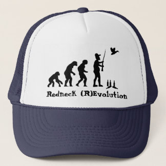 Redneck Evolution or Revolution Trucker Hat