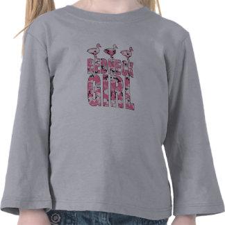 Redneck Girl Pink Camouflage Ducks Toddler Shirt Tees