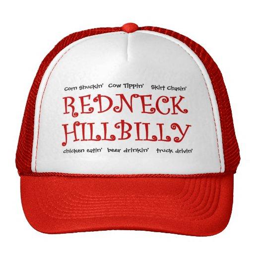 Redneck Hillbilly - What do ya'll do for fun? Trucker Hats