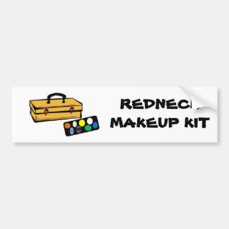 Redneck makeup kit bumper sticker