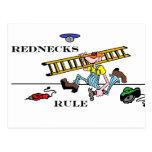 redneck postcard