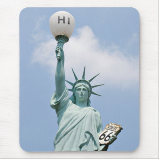 Redneck Statute of Liberty Mouse Mat