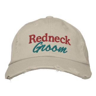 Redneck Wedding - Groom by SRF Embroidered Hat