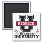 Redneck Women's Refrigerator Magnets