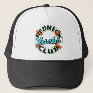 redneck yacht club trucker hat